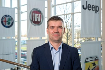 Arnaud Leclerc, managing director at Fiat Chrysler Automobiles in the UK and Ireland