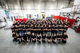 An intake of Arnold Clark apprentices in Glasgow