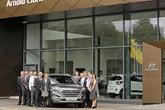 Arnold Clark's Hyundai dealership in Glasgow