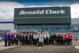 Staff at the new ACVM headquarters in Glasgow