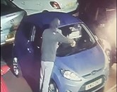 CCTV footage of the alleged arson attack on the Village Car Centre, Morpeth Road, Ashingdon