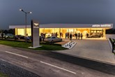 Dick Lovett's new Aston Martin facility in Bristol