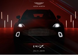 Order books will open for Aston Martin's first SUV, the DBX, on November 20