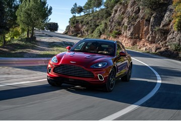 Aston Martin's first SUV, the DBX