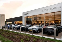 Cambria Automobiles' new Aston Martin dealership in Hatfield