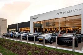 Cambria Automobiles Aston Martin dealership at Hatfield