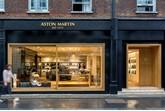 Aston Martin at No. 8 Dover Street