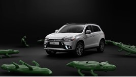 Mitsubishi Motors in the UK Channel 4 advertising campaign