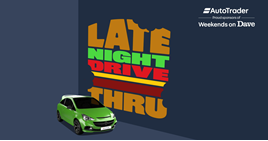 Auto Trader will sponsor 'Weekends on Dave' for 12 months
