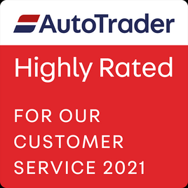 Auto Trader Highly Rated 2021 logo