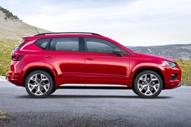 Seat's Ateca, Mii, Ibiza and Arona are all available on PCP for under  £200 a month