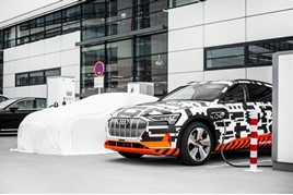 Audi Enters EV Mobility Market With Etron Charging Service Launch - Audi ev