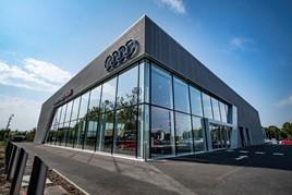 Lookers' Audi Farnborough franchised car dealership