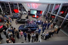 Lookers hosted an official VIP opening of its new flagship dealership at Farnborough