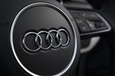 Audi steering wheel logo