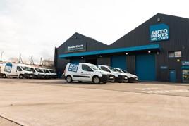 Autoparts UK warehouse