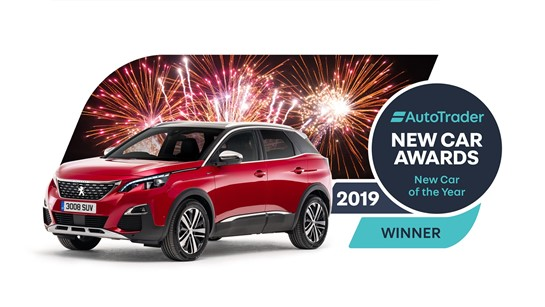 Auto Trader Crowns Peugeot 3008 Car Of The Year In New Car Awards