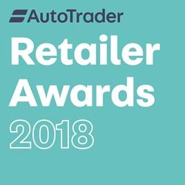 AutoTrader Retailer Awards 2018 logo