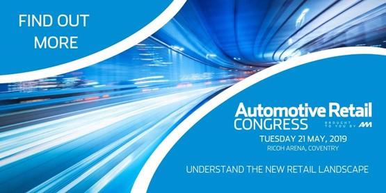 AM Automotive Retail Congress 2019 blue ad