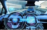 Artist's impression: an autonomous car of the future