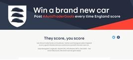 Auto Trader World Cup promo