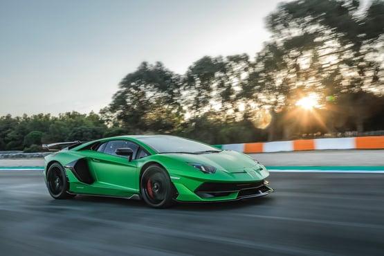 Lamborghini's V12-engined Aventador supercar