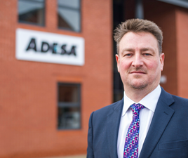 Jonathan Holland, managing director of Adesa Remarketing
