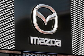Mazda UK showroom signage