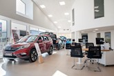 Barretts Honda showroom refurb