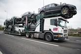 A BCA vehicle transporter