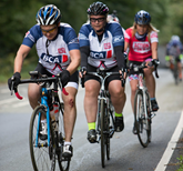 Riders taking part in last year's BCA Cycle Challenge