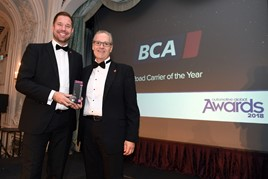 BCA wins at the Automotive Global Awards 2018: Pictured: Nigel Glenn (left) and Simon Duval Smith