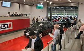BCA Volkswagen Group auction event