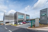 Group 1 Automotive's new Beadles Jaguar Land Rover (JLR) dealership in North West London