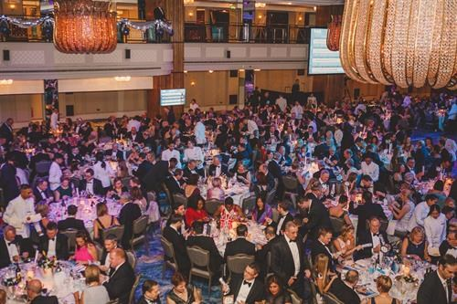 The packed Ben Ball fund-raising event in 2017