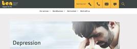 Ben depression webpage