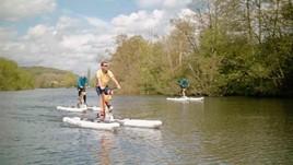 Thames waterbike challenge