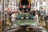 Bentley Continental GT production line in Crewe