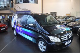 Big Motoring World customer shuttle