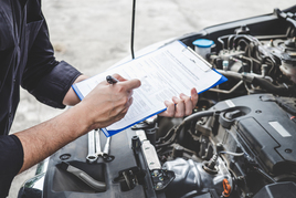 Mechanic MOT test