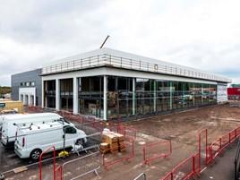 Under construction: Sytner BMW Cardiff