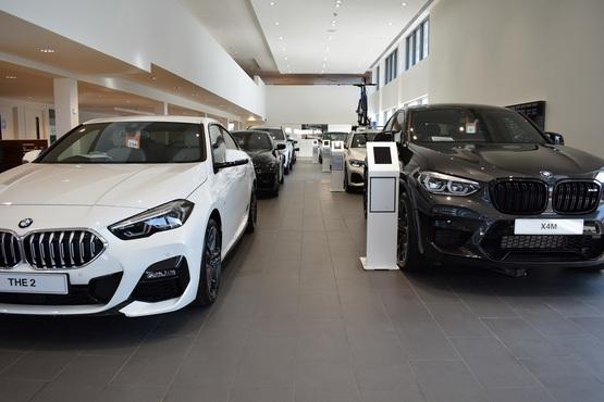 Inside Pendragon's Stratstone Doncaster BMW dealership