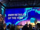 Agnew Group's Bavarian BMW Belfast named as BMW UK's Retailer of the Year
