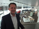 Bowker Motor Group chief executive, Paul Bowker, at the group's new Porsche Centre in Preston