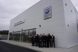 Breeze Motor Group opens its new Volkswagen Commercial Vehicles Van Centre in Portsmouth.