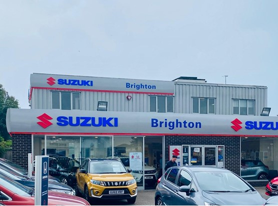 Anca Group's new Brighton Suzuki showroom