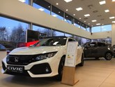 Brindley Honda West Bromwich showroom 2018