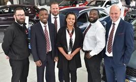 Bristol Street Motors team