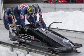 Lookers sponsor British bobsleigh team 2018 Olympics