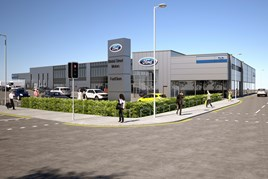 Plans for the Bristol Street Motors' new Bolton FordStore